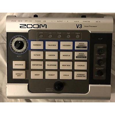 Zoom V3 VOCAL PROCESSOR Multi Effects Processor