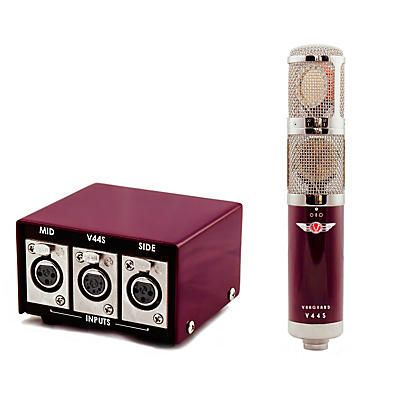 Vanguard Audio Labs V44S Stereo Large Diaphragm Multi-Pattern FET Condenser Microphone