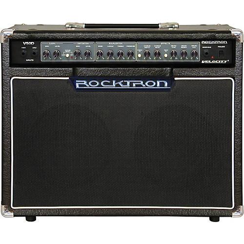 rocktron v50d velocity 50w guitar combo amp musician 39 s friend. Black Bedroom Furniture Sets. Home Design Ideas
