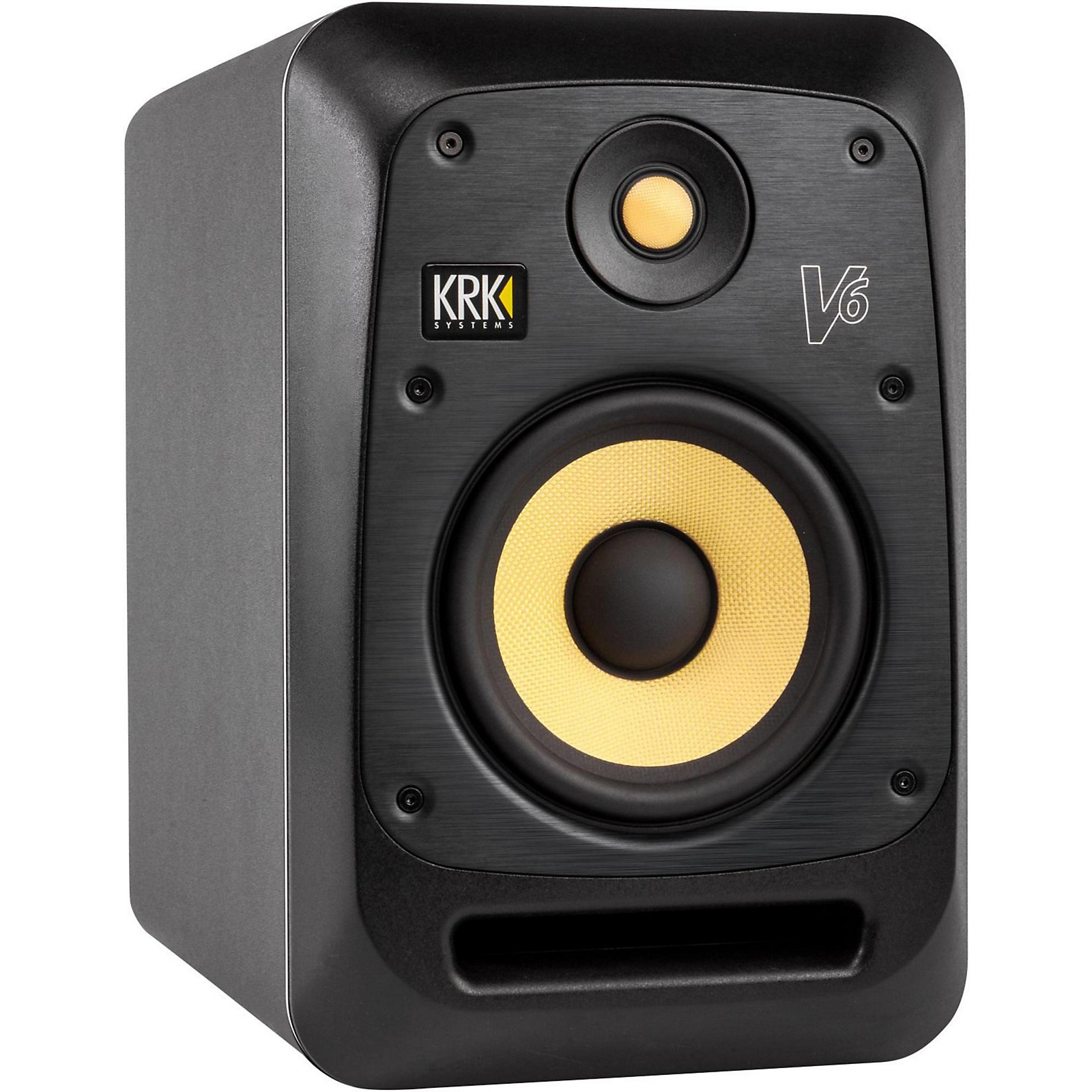 KRK V6 6in Studio Monitor with Kevlar Drivers