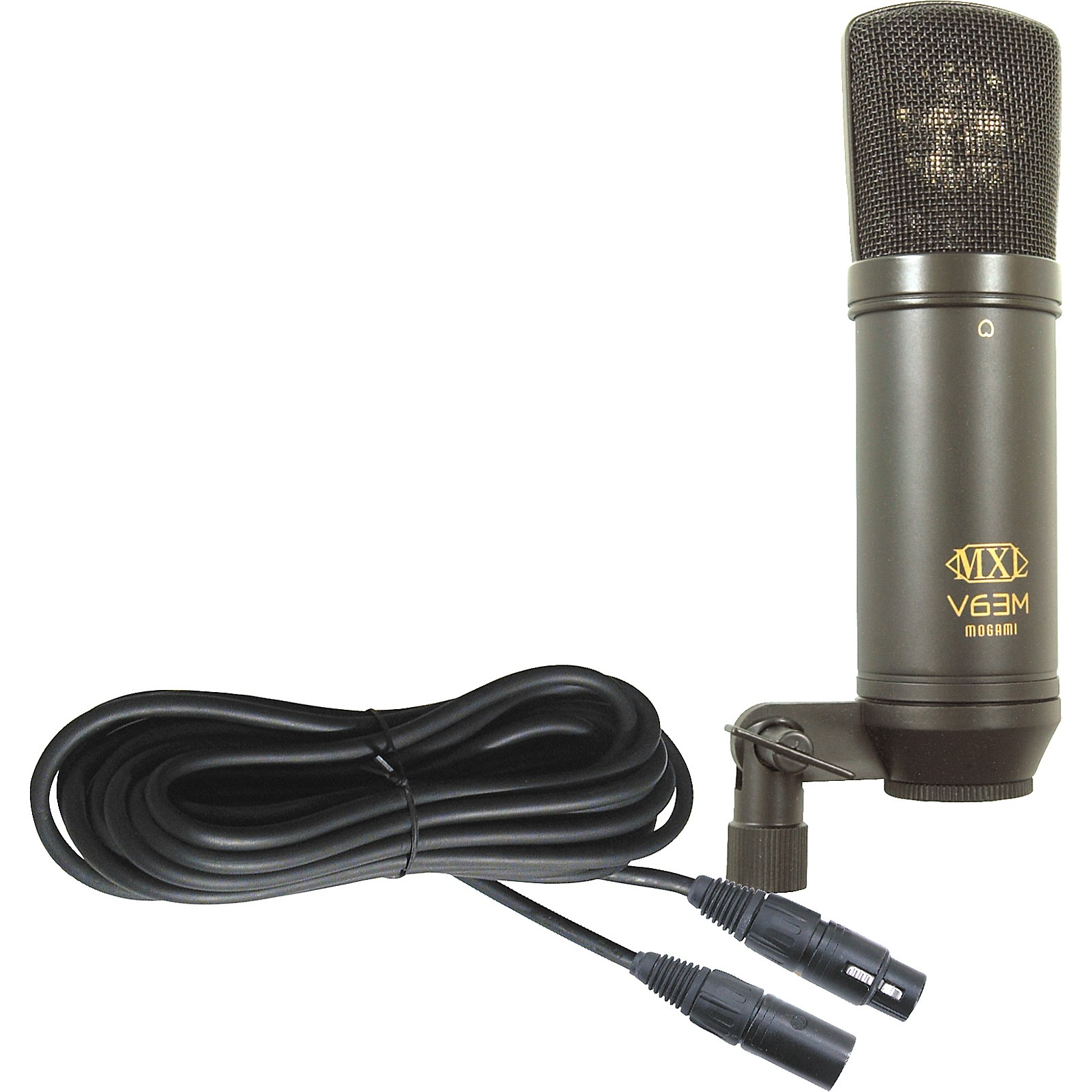 MXL V63M Condender Studio Mic with Mogami Mic Cable
