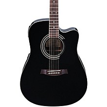V70CE Acoustic-Electric Guitar Black