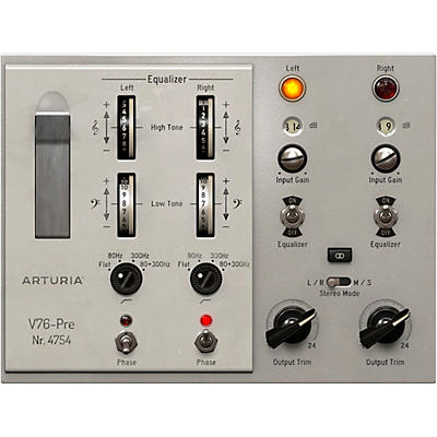 Arturia V76-Pre (Software Download)