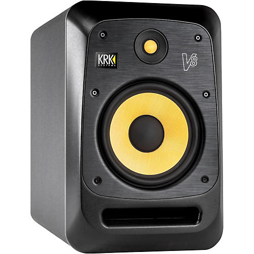 KRK V8 8in Studio Monitor with Kevlar Drivers