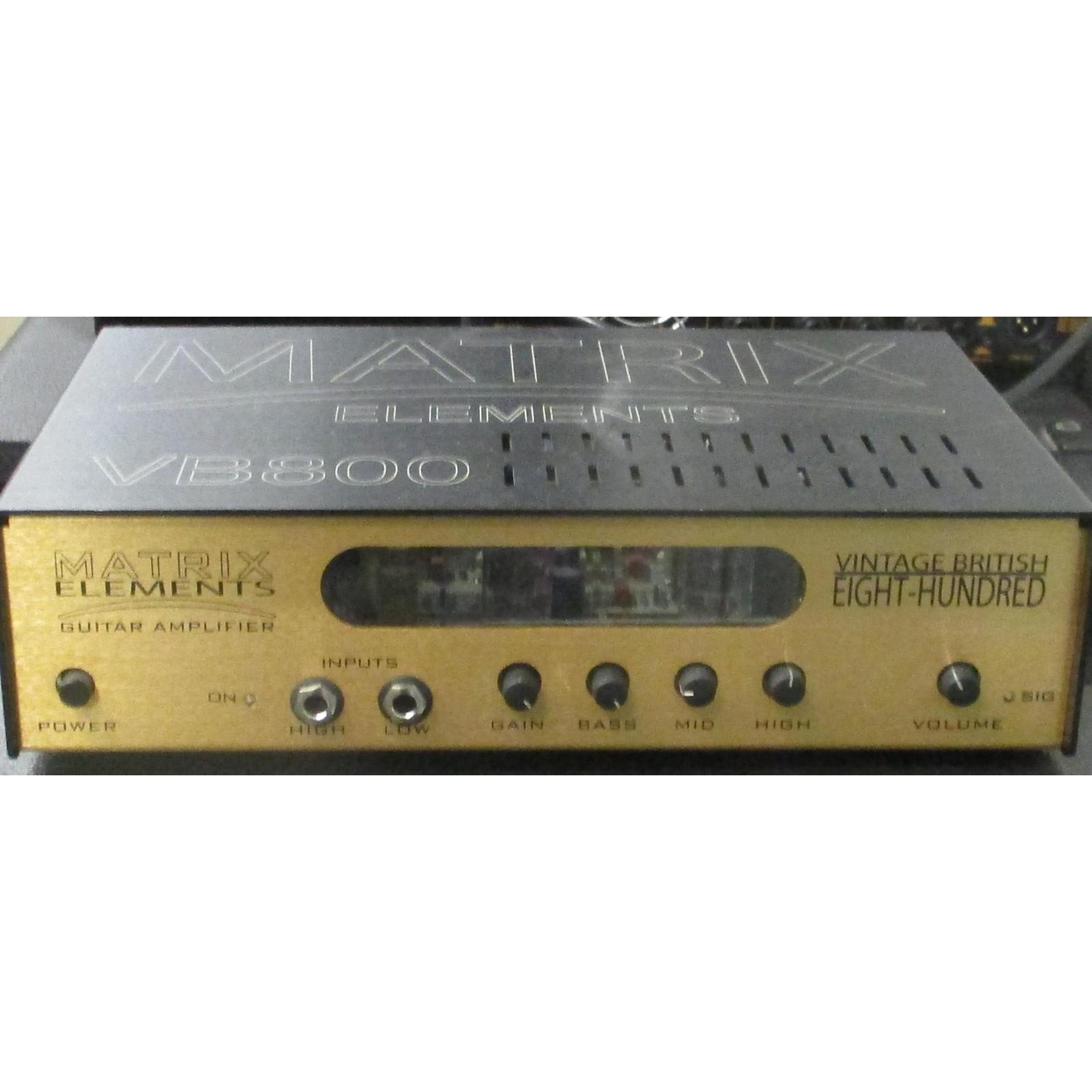 Matrix Elements VB800 Vintage British Guitar Amp Head