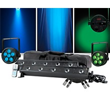American DJ VBAR Pak with Venue ThinTri38 Pair Lighting Package