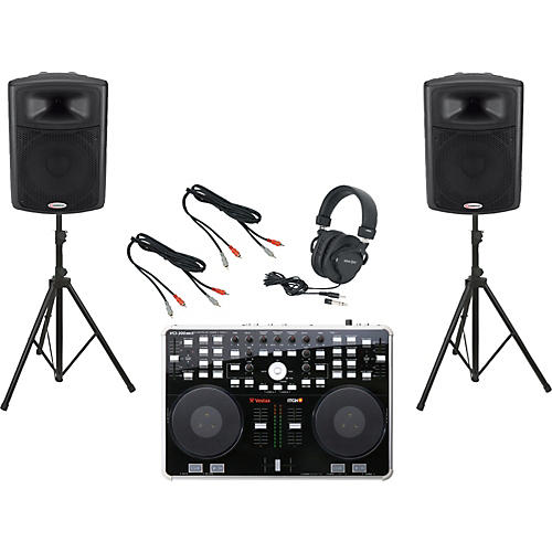 Vestax VCI-300 MKII / Harbinger APS15 DJ Package