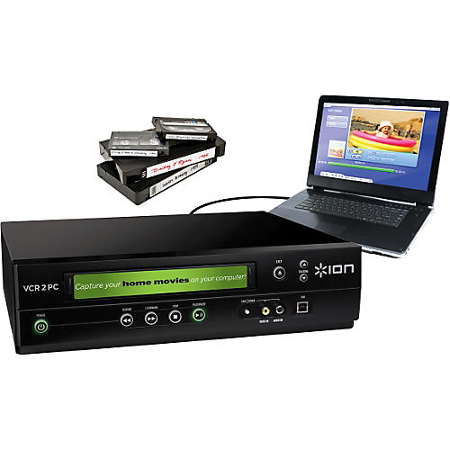 ION VCR 2 PC USB Video Converter Player