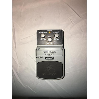 Behringer VD400 Vintage Delay Effect Pedal