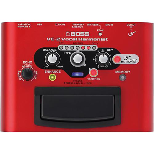 Boss VE-2 Vocal Harmonist Multi-Effects Pedal