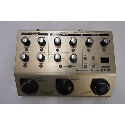 Boss VE8 Acoustic Singer Effect Processor