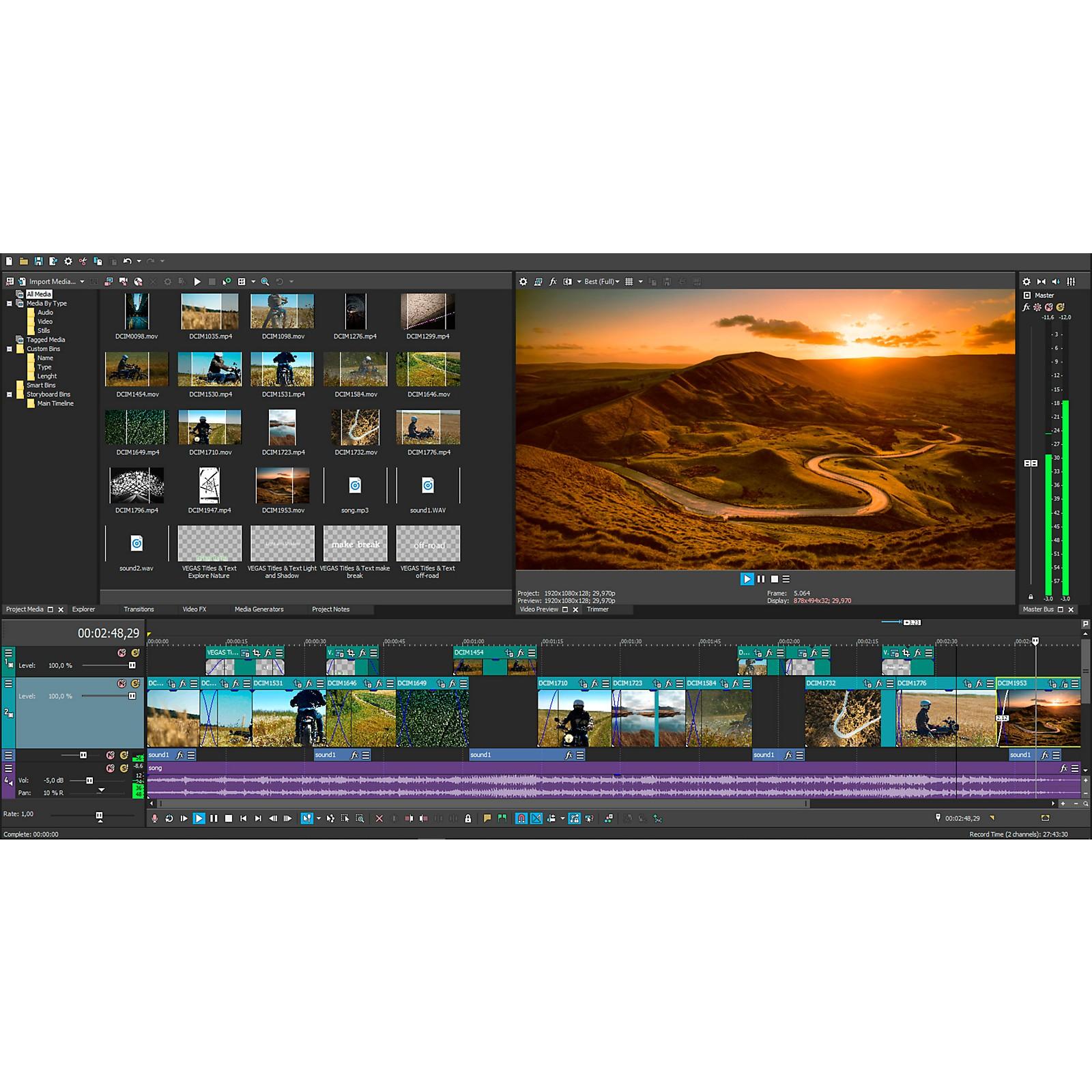 Magix VEGAS Pro Edit (Download)