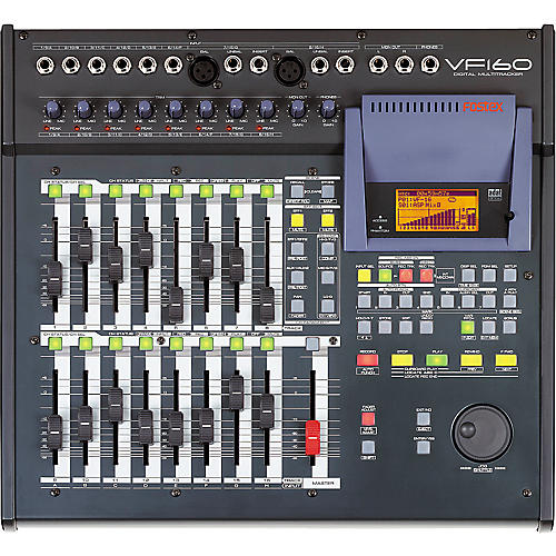 fostex vf 160 16 track digital recorder with internal cd burner rh musiciansfriend com Fostex Support Fostex VF160EX Hard Drive