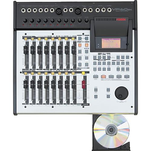 fostex vf160ex 16 track recorder with cd burner musician s friend rh musiciansfriend com Fostex Support Fostex VF160 Manual
