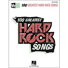 Hal Leonard VH1 100 Greatest Hard Rock Songs - Easy Guitar with Tab
