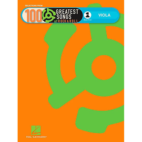 Hal Leonard VH1's 100 Greatest Songs Of Rock & Roll Viola (Book Only)