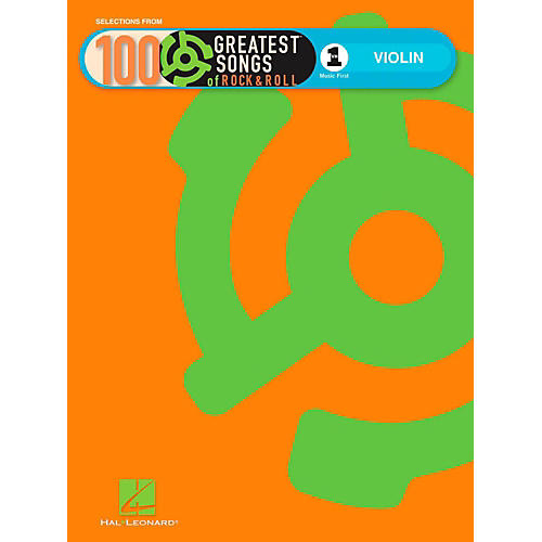 Hal Leonard VH1's 100 Greatest Songs Of Rock & Roll Violin (Book Only)