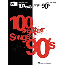 Hal Leonard VH1's 100 Greatest Songs of the 90's (Piano/Vocal/Guitar Songbook)