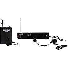 Open BoxGemini VHF-01HL Single Headset/Lavalier Wireless System