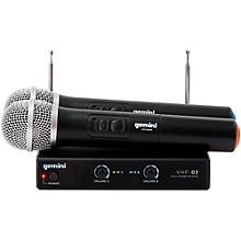 Open BoxGemini VHF-02M Dual Handheld Wireless System