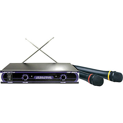 Vocopro VHF-3005 Dual Wireless Microphone System