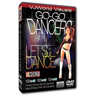 Global Creative Group VJ World Visuals - Go-Go Dancers DVD Series DVD