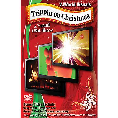 Global Creative Group VJWorld Visuals - Trippin' on Christmas DVD Series DVD Written by Ian Faith