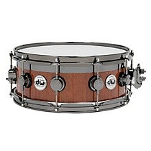 DW VLT Maple Mahogany Top Edge Snare Drum