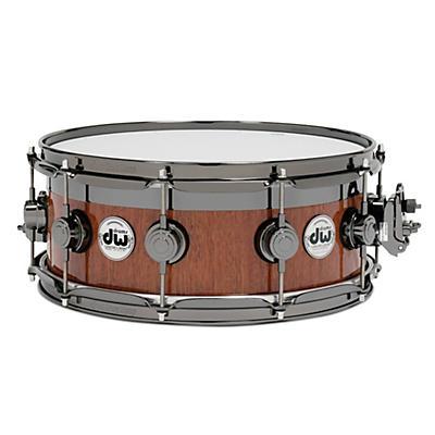 DW VLT Maple Mahogany Top Edge Snare Drum