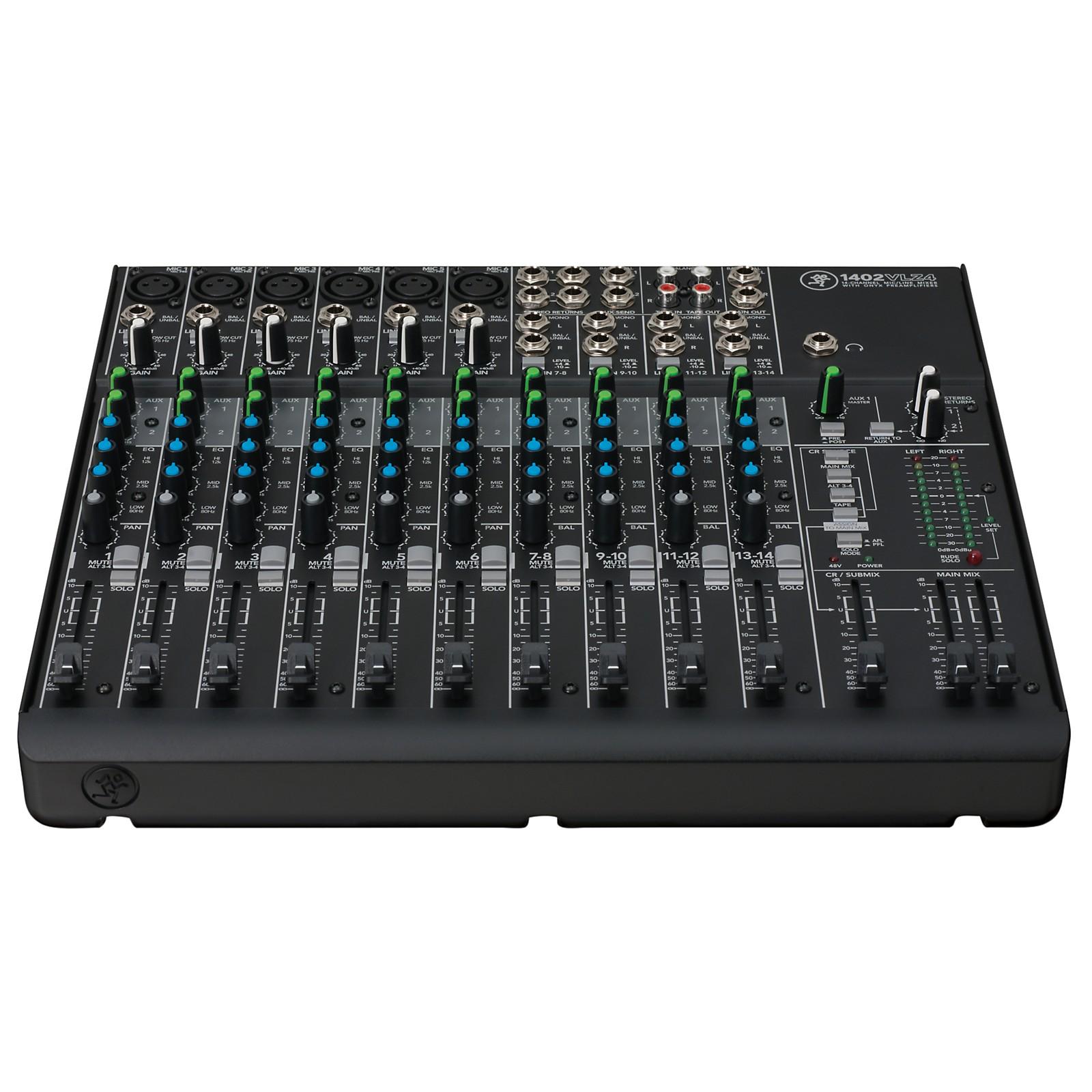 Mackie VLZ4 Series 1402VLZ4 14-Channel Compact Mixer