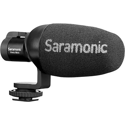 Saramonic VMIC Mini Shotgun Microphone for DSLR, Mirrorless and Video Cameras or Smartphones and Tablets