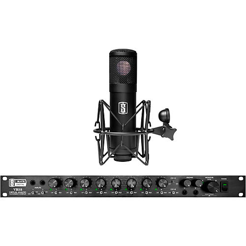 Slate Digital VRS-8 Thunderbolt Audio Interface With Free ML-1 Large-Diaphragm Modeling Microphone