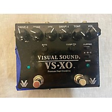 Visual Sound VSXO PREMIUM DUAL OVERDRIVE Effect Pedal