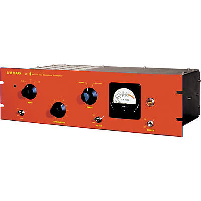 D.W. Fearn VT-1 Single Channel Vacuum Tube Microphone Preamp