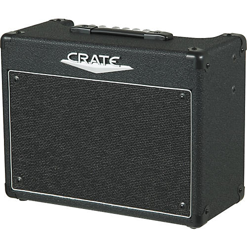 crate vtx series vtx15b 15w 1x10 guitar combo amp musician 39 s friend. Black Bedroom Furniture Sets. Home Design Ideas