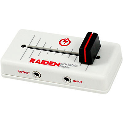 Raiden VVT-MK1 Right Cut Portable Fader - Red/White