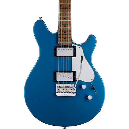 Sterling by Music Man Valentine Trem Electric Guitar Toluca Lake Blue