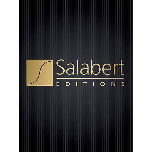 Editions Salabert Valse Improvisation sur le nom de Bach (Piano Solo) Piano Solo Series Composed by Francis Poulenc