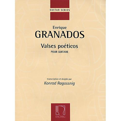 Max Eschig Valses Poeticos (Classical Guitar) Editions Durand Series Softcover