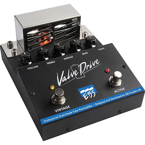 ebs valvedrive pro dual mode tube overdrive effects pedal musician 39 s friend. Black Bedroom Furniture Sets. Home Design Ideas