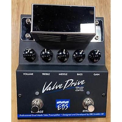 EBS ValveDrive Pro Dual Mode Tube Overdrive Tube Bass Preamp