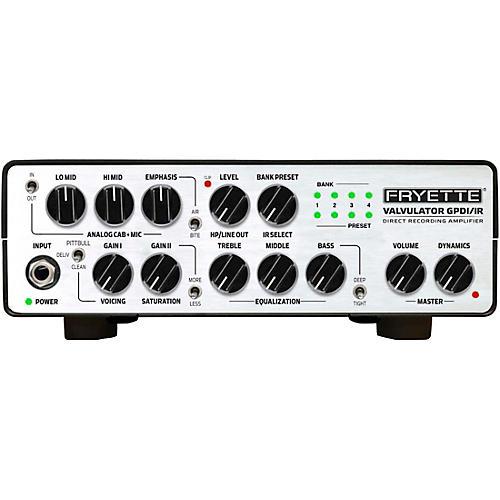 Fryette Valvulator GP/DI IR 1W Tube Direct Recording Tube Amplifier Head White
