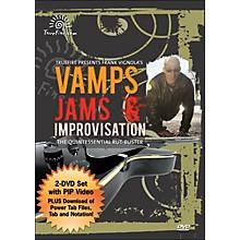 Hal Leonard Vamps, Jams & Improvisation - Instructional Guitar 2-DVD Pack Featuring Frank Vignola
