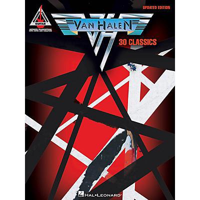 Hal Leonard Van Halen - 30 Classics (Updated Edition) Guitar Tab Songbook