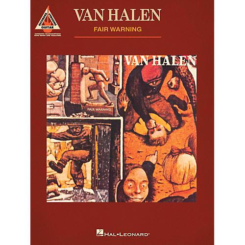 Hal Leonard Van Halen - Fair Warning Guitar Tab Songbook