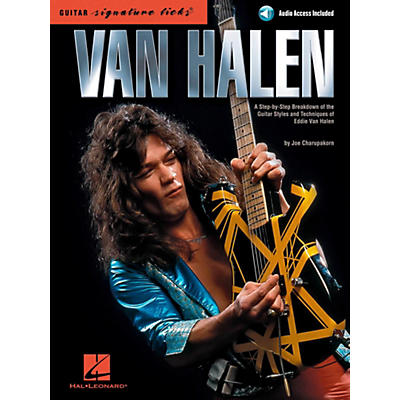 Hal Leonard Van Halen - Guitar Signature Licks Book/Online Audio