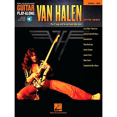 Hal Leonard Van Halen 1978-1984 - Guitar Play-Along Vol. 50 Book/CD