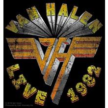 C&D Visionary Van Halen Live 82' Sticker