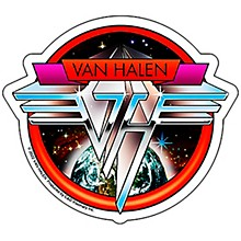 C&D Visionary Van Halen Space Sticker