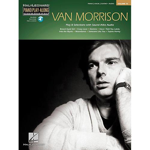 Hal Leonard Van Morrison - Piano Play-Along Volume 72 Book/CD